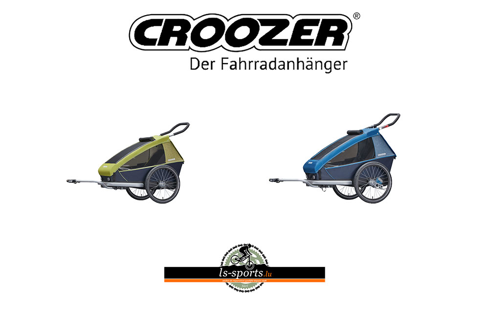 Crozzer, children bike trailer