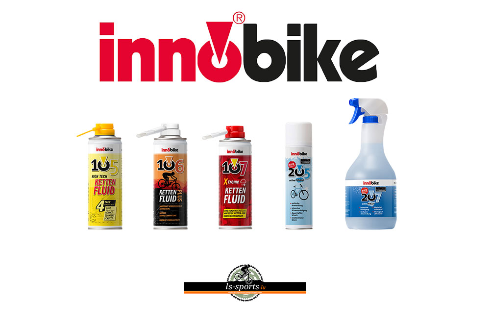 Innobike, Bike care in our Bicycleshop