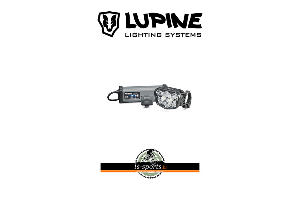 Lupine, Bike Light in our Bicycleshop
