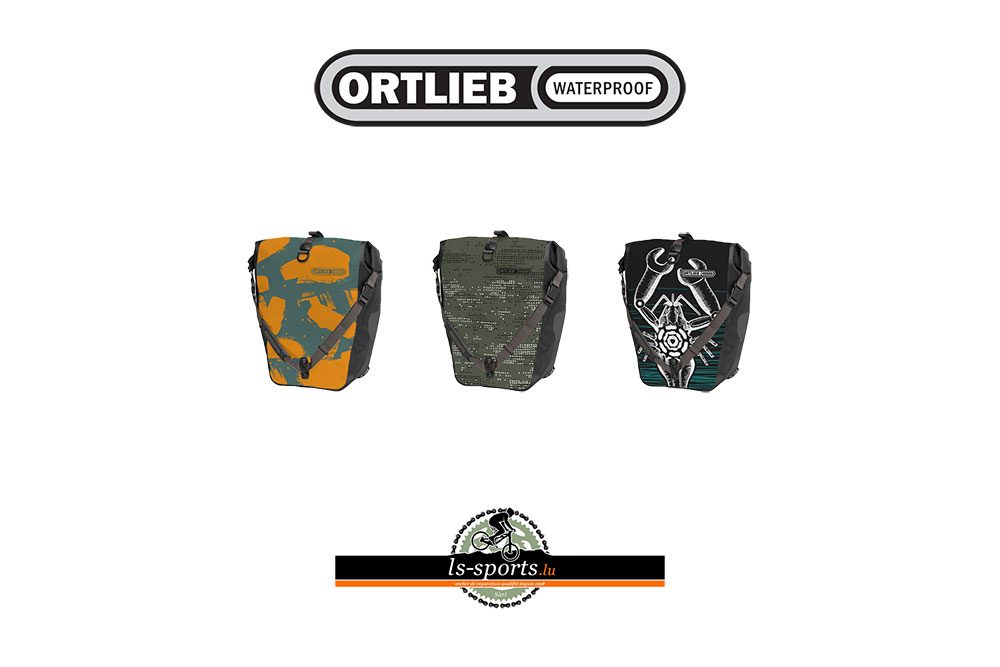 Ortlieb, waterproof bicycle bags in our Bicycleshop