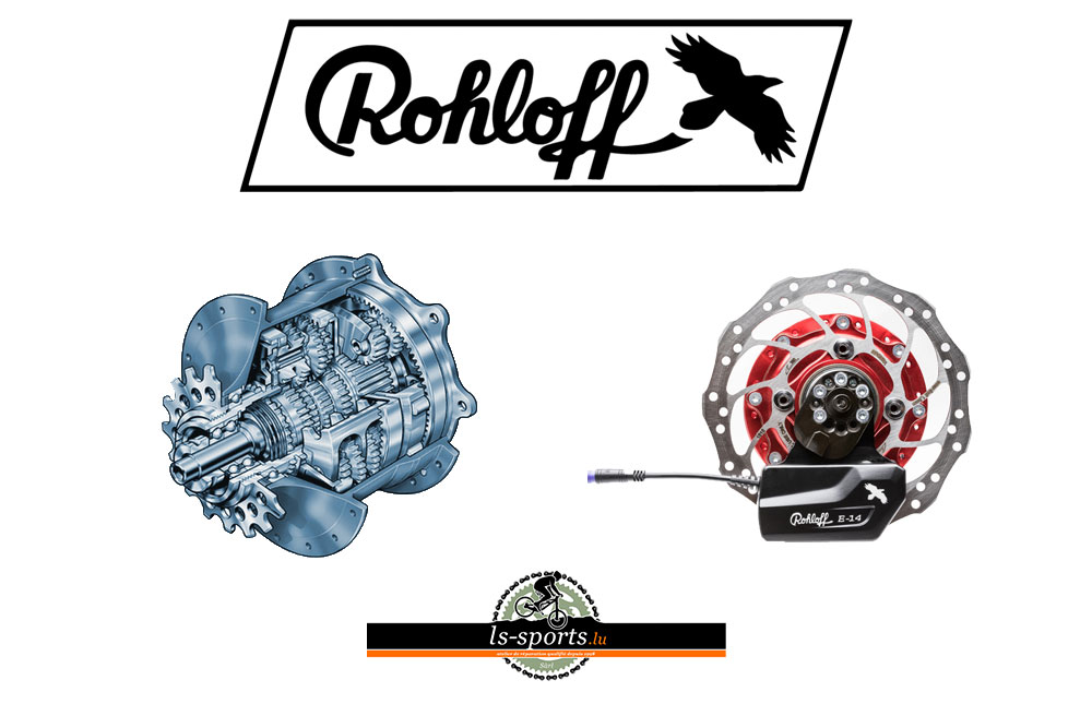 Rohloff service and spare parts for Luxembourg