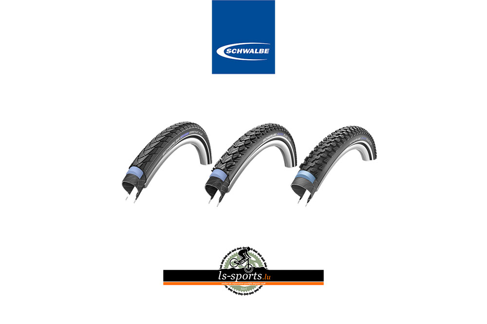 Schwalbe, Bicycle tires in our Bicycleshop